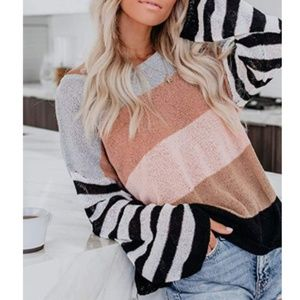 DESI Striped Sweater